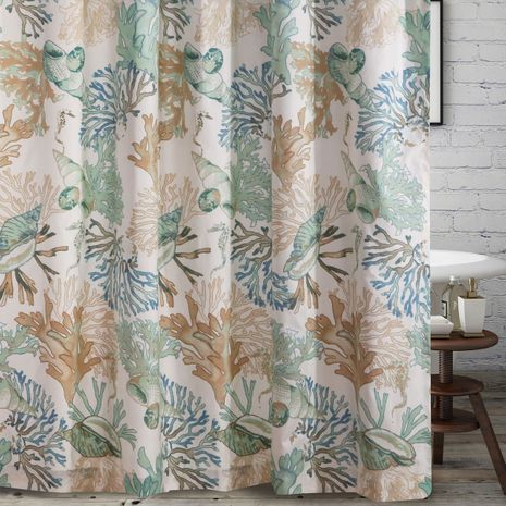 Aqua Reef Shower Curtain