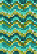 Aqua Spa Tiles Rug Collection