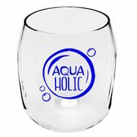AquaHolic Wine Tumblers - Set of 4