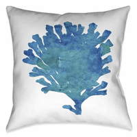 Aquamarine 18 x 18 Outdoor Pillow