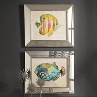 Aquarium Fish Framed Prints - Set of 2