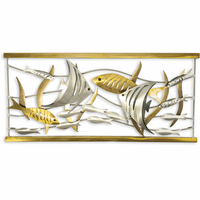 Aquarium Scene Horizontal Metal Wall Art