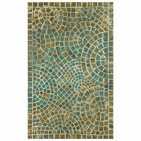 Arch Tile Lapis Rug Collection