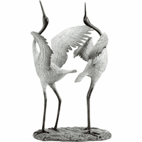 Arched Cranes Statuary