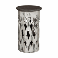 Artifacts Cutout Accent Table