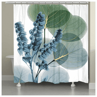 Aruban Flowers Shower Curtain