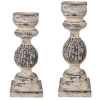 Athena Candle Holders - Set of 2