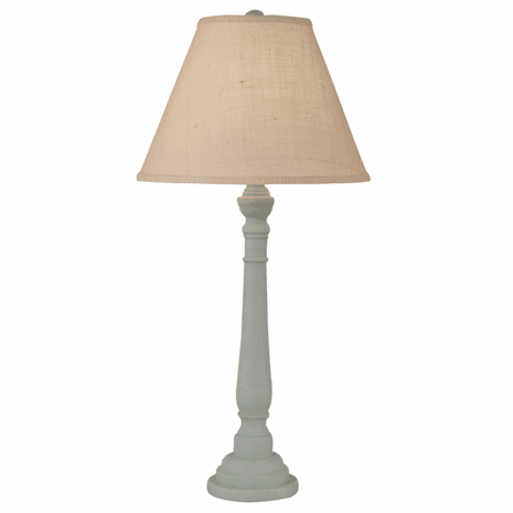 Atlantic Gray Round Buffet Lamp
