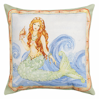 Atlantic Mermaid Pillow