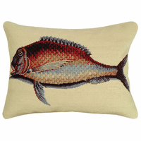 Atlantic Mutton Fish Pillow