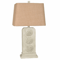 Atlantic Sand Dollar Table Lamp