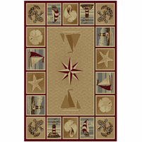 Atlantic Sands Rug Collection