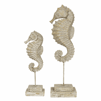 Atlantis Seahorse Statuaries - Set of 2