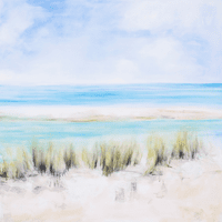 August Seascape Canvas Art