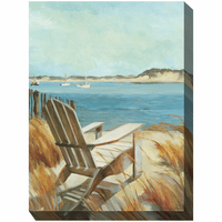 Avalon Breeze Indoor/Outdoor Canvas Art
