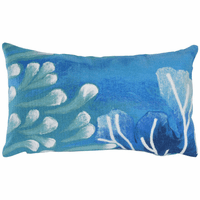 Azul Reef Rectangle Indoor/Outdoor Pillow