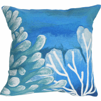 Azul Reef Square Indoor/Outdoor Pillow
