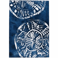 Azul Sand Dollar Rug Collection