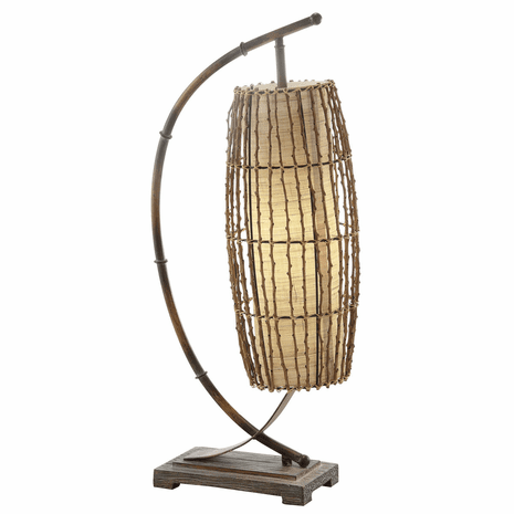 Baha Bamboo Table Lamp