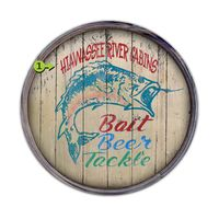 Bait Beer Tackle Personalized Barrel End