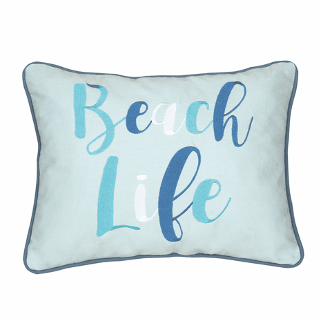 Baja Beach Life Pillow