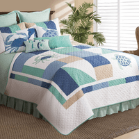 Baja Beach Quilt Bedding Collection