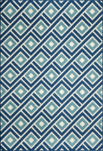 Baja Turkish Tile Blue Rug Collection