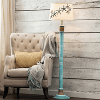 Bali Blue Starfish Floor Lamp