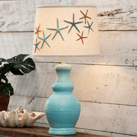 Bali Blue Starfish Table Lamp