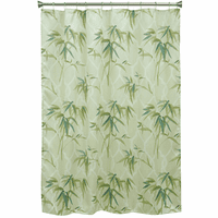 Bamboo Branches Shower Curtain