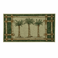 Bamboo Palm Berber Accent Rug