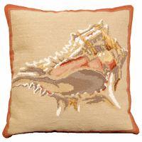 Barbados Shell Pillow