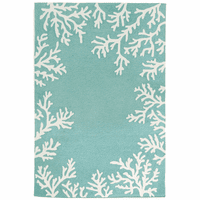 Barrier Reef Blue Indoor/Outdoor Rug Collection