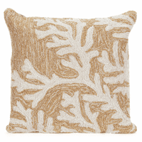 Barrier Reef Natural Indoor/Outdoor Pillow