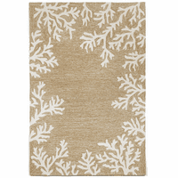 Barrier Reef Natural Indoor/Outdoor Rug Collection