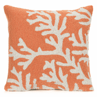 Barrier Reef Orange Indoor/Outdoor Pillow