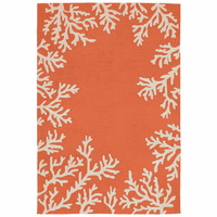 Barrier Reef Orange Indoor/Outdoor Rug Collection