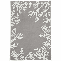 Barrier Reef Silver Indoor/Outdoor Rug Collection