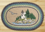Lighthouse Oval Patch Rug