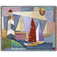 Bay Regatta Blanket