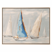 Bay Sailing Canvas Art