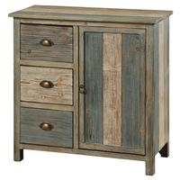 Bayside Cabinet with 3 Drawers and 1 Door