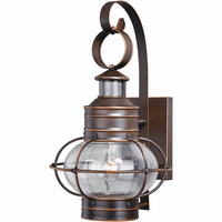 Bayside Outdoor Motion Sensor Wall Sconce - 10 Inch