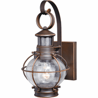 Bayside Outdoor Motion Sensor Wall Sconce - 7 Inch