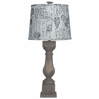 Bayside Shells Accent Lamp