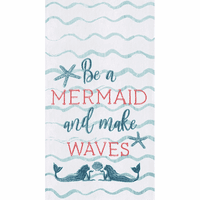 Be a Mermaid Flour Sack Towels - Set of 6