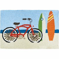 Beach Activities Indoor/Outdoor Rug
