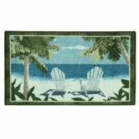 Beach Chairs Berber Rug Collection