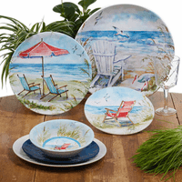 Beach Chairs Dinnerware Collection