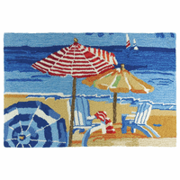 Beach Day Accent Rug